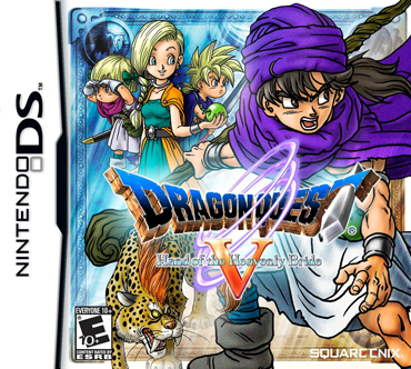 Dragon Quest V Box Art
