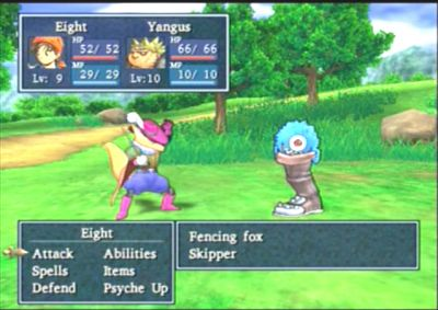 Dragon Quest VIII Battle Scene